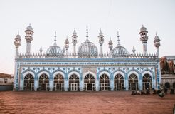 The Mosque of Rawalpindi. royalty free stock photography