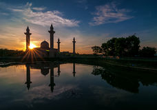 Mosque reflection Stock Photo