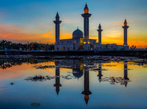Mosque and Reflection II Stock Images
