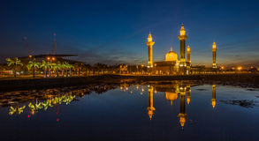Mosque and Reflection III Stock Photography