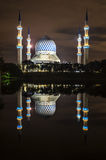 Mosque reflection Royalty Free Stock Image
