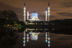 Mosque reflection Stock Photos