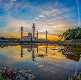 Mosque and Reflection Royalty Free Stock Photos
