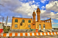 Mosque at a rest area of the highway Tehran - Isfahan Stock Photos