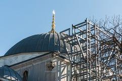 Mosque Restoration Stock Images