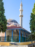 Mosque in Rhodes, Greece Stock Images