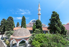 Mosque Rhodes Island Greece Stock Photo