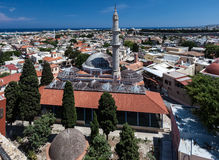 Mosque Rhodes Island Greece Royalty Free Stock Photo