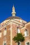 Mosque in Rhodes town, Greece Stock Photo