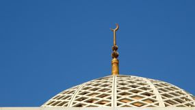 Mosque roof Royalty Free Stock Photography