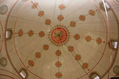 Mosque roof royalty free stock photos