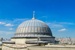 Mosque roof top in Turkey Stock Images