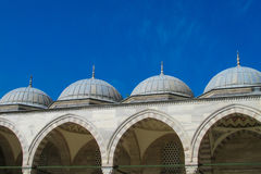 Mosque roof in Turkey Stock Photography