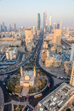 Mosque Roundabout in Kuwait. Murgab Mosque Roundabout in Kuwait City, Middle East Stock Images