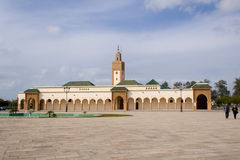 Mosque of the royal palace in Rabat Stock Images