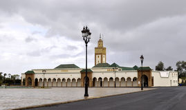 MOSQUE OF THE ROYAL PALACE IN RABAT Stock Photos
