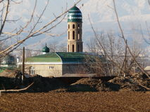 Mosque. The mosque in the Rudaki district of Tajikistan Royalty Free Stock Images