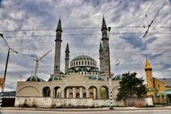 Mosquée rurale Image libre de droits