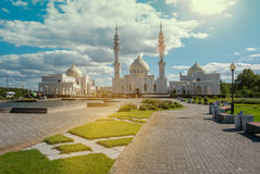 Mosque in Russian town Bolgar. Stock Image