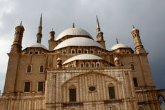 Mosque in Saladin Citadel in Cairo, Egypt Stock Image