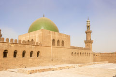 Mosque in the Saladin citadel in Cairo, Egypt. Stock Photography