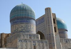 Mosque in Samarkand Stock Photography