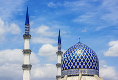 Mosque in Shah Alam Stock Images