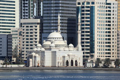 Mosque in Sharjah City Stock Photography
