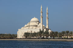 Mosque in Sharjah City. United Arab Emirates Stock Photo