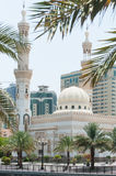 Mosque in Sharjah, UAE. View of Mosque in Sharjah near Dubai, UAE Stock Images