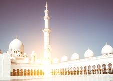 Mosque Sheikh Zayed Stock Photo