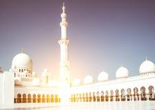 Mosque Sheikh Zayed Stock Photo