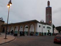 Mosque. Sidi bouabid old mosque en tangier Stock Photo
