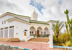 Mosque in Sidi Ifni, Morocco Royalty Free Stock Photo