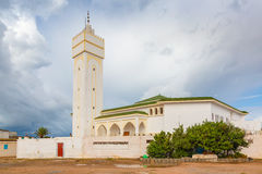 Mosque in Sidi Ifni, Morocco Stock Photography