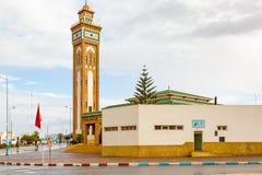Mosque in Sidi Ifni, Morocco Stock Photo