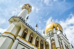Mosque in Singapore Royalty Free Stock Image