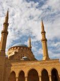 Mosque and sky Stock Photos
