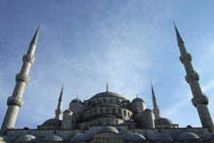 Mosque, Sky, Place Of Worship, Landmark stock image