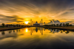 Mosque Songkhla Province, Thailand Royalty Free Stock Images
