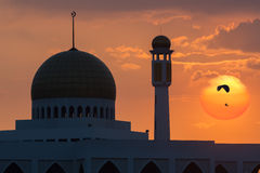 Mosque at Songkhla Thailand Stock Images