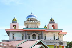 Mosque in Sorong. Muslim mosque in Sorong (Papua Barat, Indonesia Royalty Free Stock Images
