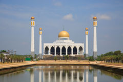 Mosque in southern of Thailand, Central mosque for prayed and most of muslim like to prayed god at mosque Stock Images