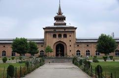 Mosque in Srinagar in Kashmir, India Stock Photo