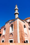 Mosque of Suleiman in  Rhodes. Sultan Suleiman the Magnificent mosque in  Rhodes, Greece Stock Photo