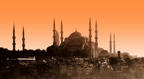 Mosque, Sultan Ahmet, Istanbul Royalty Free Stock Photo