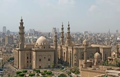 Mosque of Sultan Hassan stock images