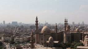 Mosque of Sultan Hassan. Cairo. stock footage
