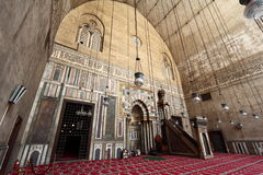 Mosque of Sultan Hassan Royalty Free Stock Photography