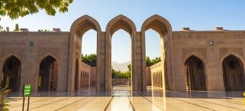 Mosque. Sultan Qaboos, Muscat, Oman Royalty Free Stock Image